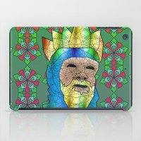 medieval iPad Cases featuring Medieval King by Dusty Goods