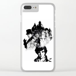 Sherlock's Mind Palace Clear iPhone Case