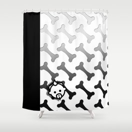 Boned HD by JC LOGAN 4 I Am Simply Blessed Shower Curtain