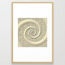 Ivory Framed Art Print
