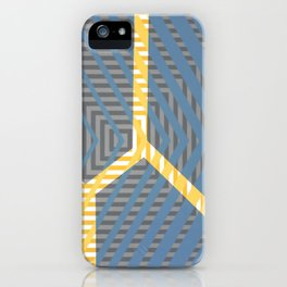 To Bee Or Not - arrow graphic iPhone Case