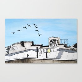 Ultreya Canvas Print