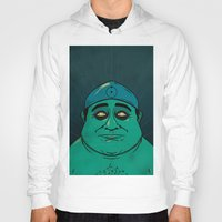 watchmen Hoodies featuring It's Always Sunny in Watchmen - Frank by Jessica On Paper