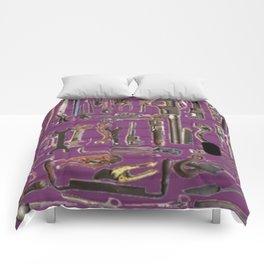 Purple Tools Comforters