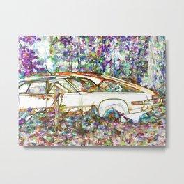 Cars left for dead Metal Print