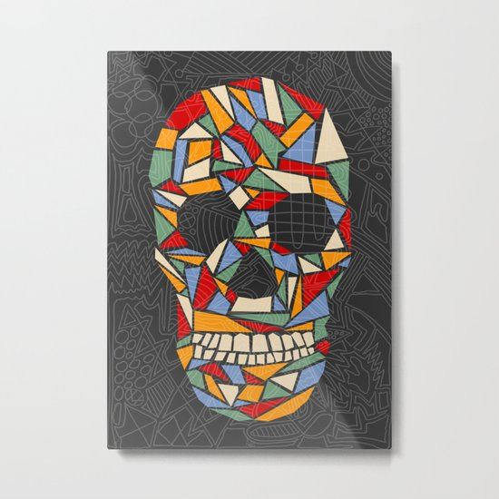 Shattered Daydream Metal Print