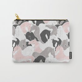 Playing Horses pattern Carry-All Pouch