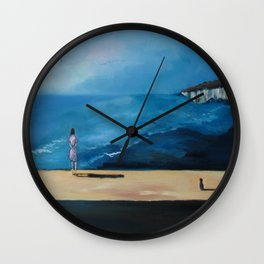 Lonely Little Planet Wall Clock