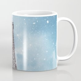 Winter in Paris - Eiffel Tower France Coffee Mug