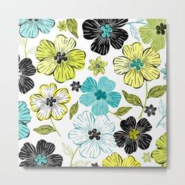 Flower Field 2 Metal Print