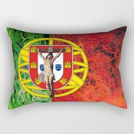 Portuguese Faith Rectangular Pillow