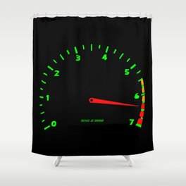 RPM Shower Curtain
