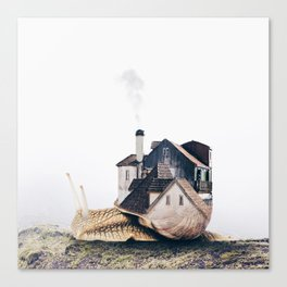 Slowly Moving Canvas Print