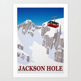 Jackson Hole Art Print