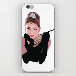 Audrey Hepburn iPhone Skin