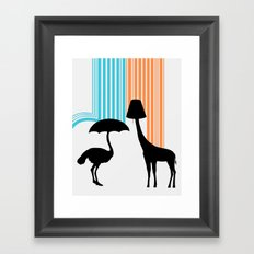 Animal Appliances Framed Art Print