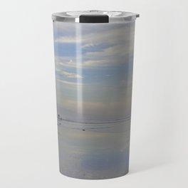 Photography - Misty Reflection at Torrey Beach Travel Mug