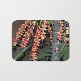 coffee plant (Bali, Indonesia) Bath Mat