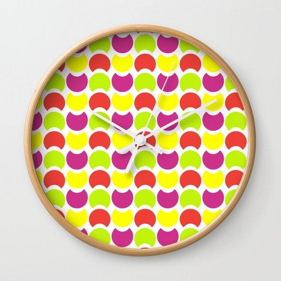 Hob Nob Citrus 5 Wall Clock