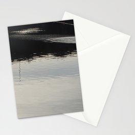 stone skimming Stationery Cards