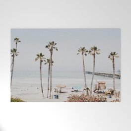 palm trees x / california Welcome Mat