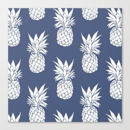 Pineapple Blues Canvas Print