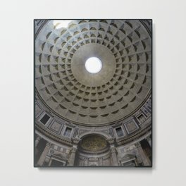 Pantheon in Rome, Italy Metal Print