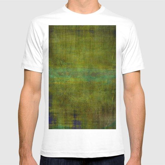 Green burrows ~ Abstract T-shirt