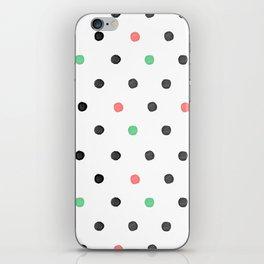Watercolor Polka! iPhone Skin