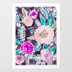 Gardens of Rockridge Floral Art Print