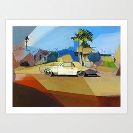 Simpson St. Art Print