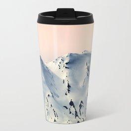 Mount St. Helens at Sunset Travel Mug