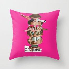 NO AL SEXISMO Throw Pillow