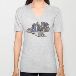 Collection of Curiosities Unisex V-Neck