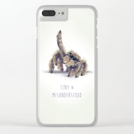 Tiny & Misunderstood Clear iPhone Case