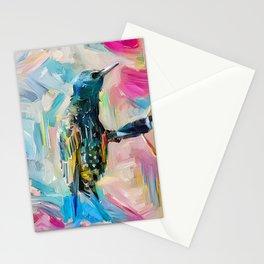 Sparkle Bird Stationery Cards