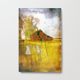 YESTERYEAR Metal Print