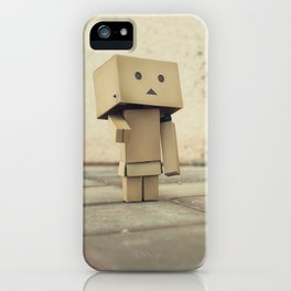 Danbo on the street iPhone Case