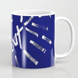 Fuck Brexit White & Blue Coffee Mug