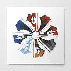 Color Wheel No.001 Metal Print