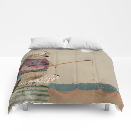 fish for tea Comforters