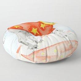 Starry Scruffy Schnauzer Floor Pillow