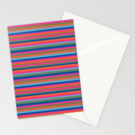 Fall Candy Stripes Stationery Cards