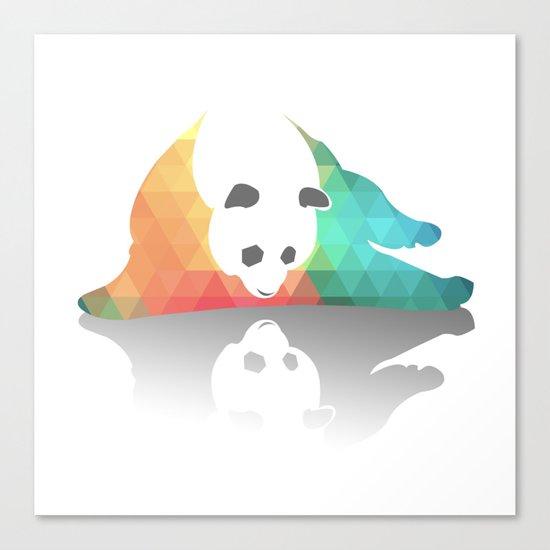 Pandarized Canvas Print