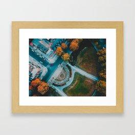 Berlin Frohnau Aerial View Framed Art Print