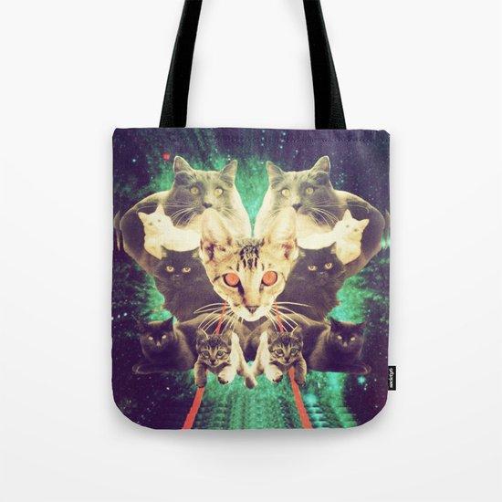 Galactic Cats Saga 1 Tote Bag