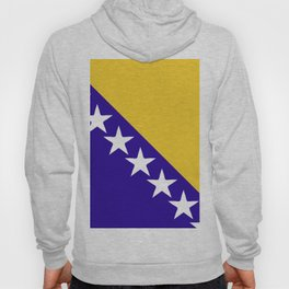 Bosnia and Herzegovina flag emblem Hoody