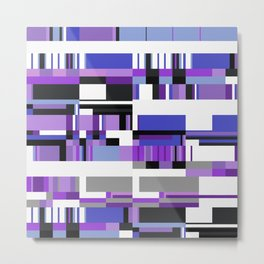 Debussy Little Shepherd (Purples) Metal Print