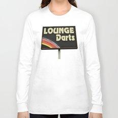 Lounge Darts sign Long Sleeve T-shirt