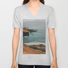 Sunset Cliffs Unisex V-Neck